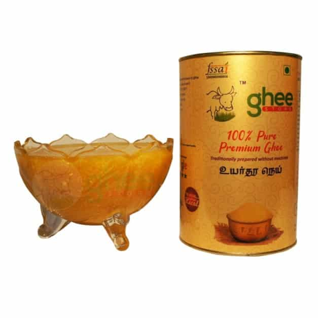 cow ghee with bowl