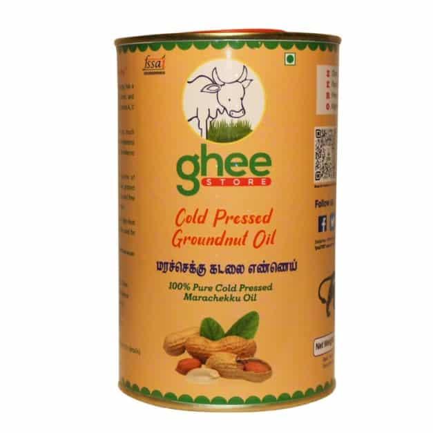 Groundnut Oil Half Kg Tin