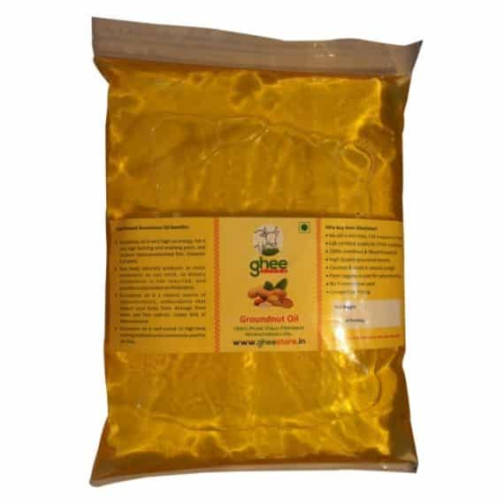 groundnut oil pouch