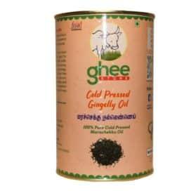 gingelly oil half kg tin