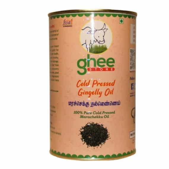 gingelly oil half kg tin