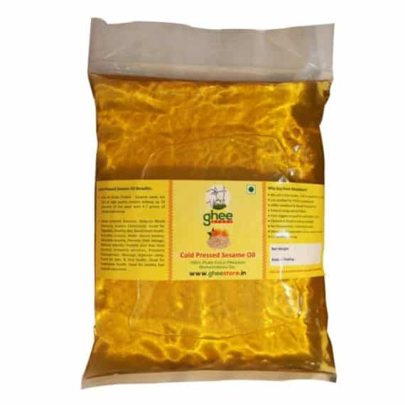 sesame oil pouch